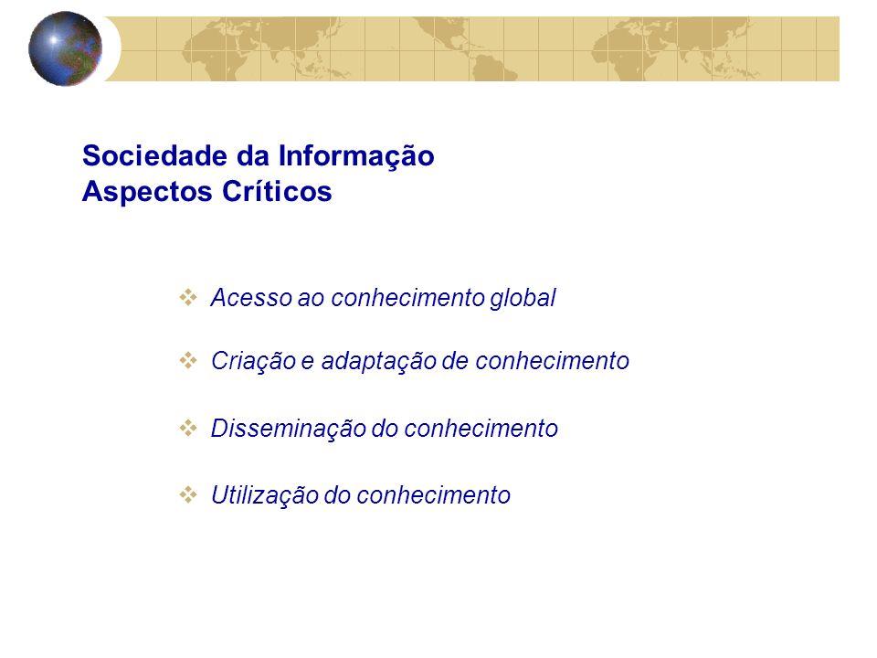Sociedade da Informação Aspectos Críticos
