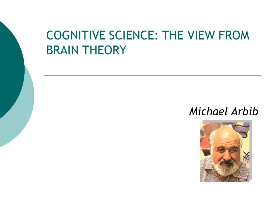 COGNITIVE SCIENCE: THE VIEW FROM BRAIN THEORY
