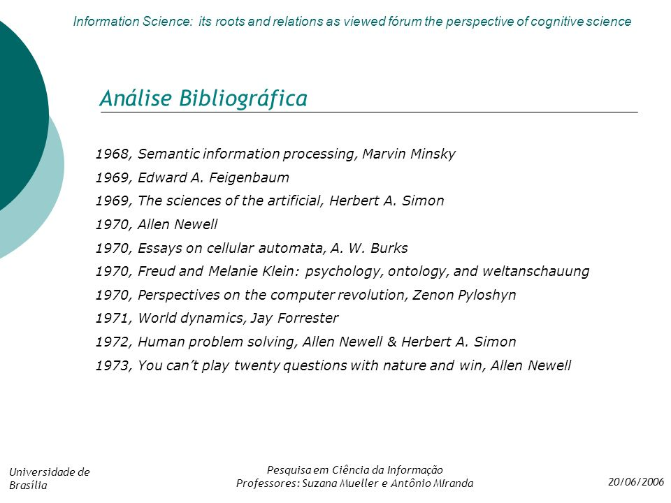 Análise Bibliográfica