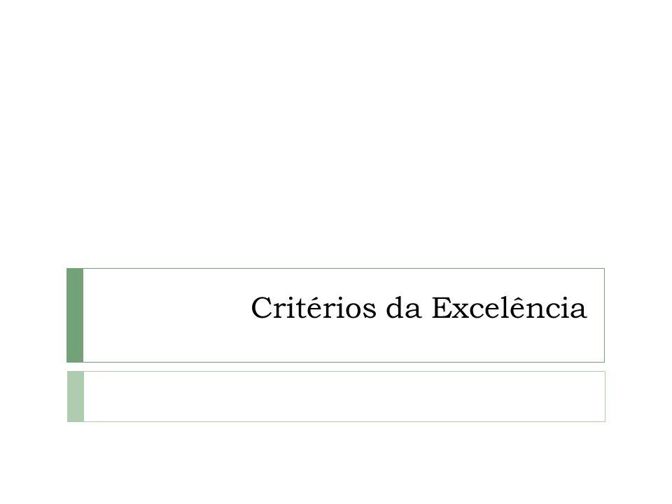 Critérios da Excelência