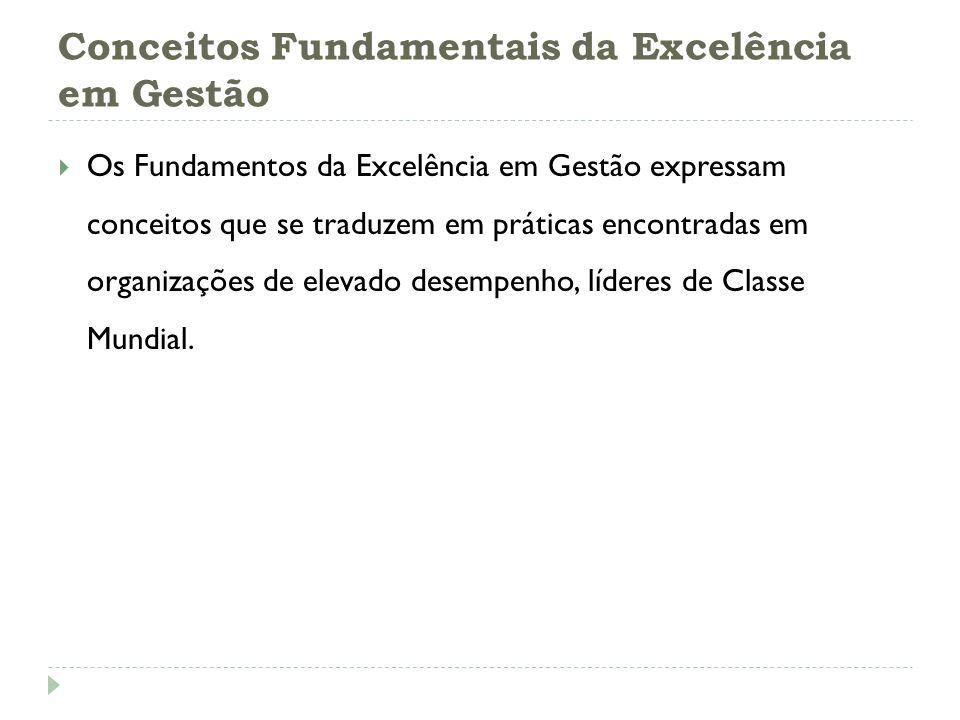 Conceitos Fundamentais da Excelência em Gestão