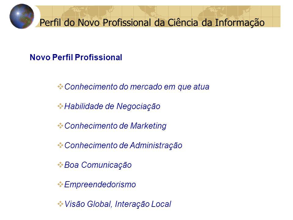 Perfil do Novo Profissional da Ciência da Informação