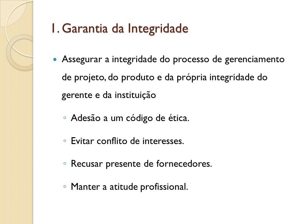 1. Garantia da Integridade