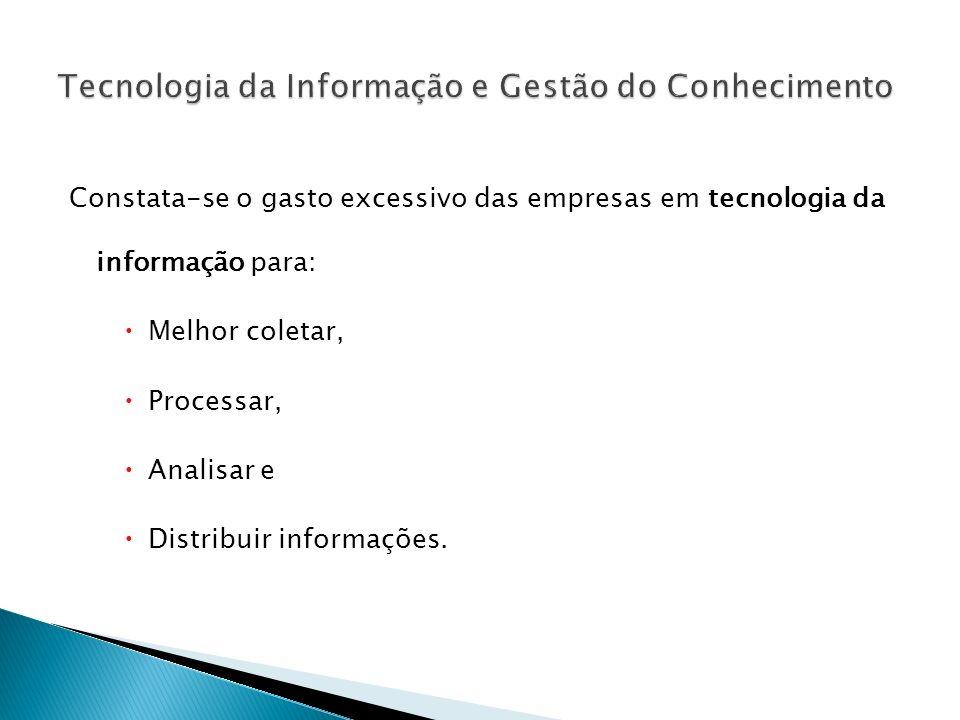 Tecnologia da Informação e Gestão do Conhecimento