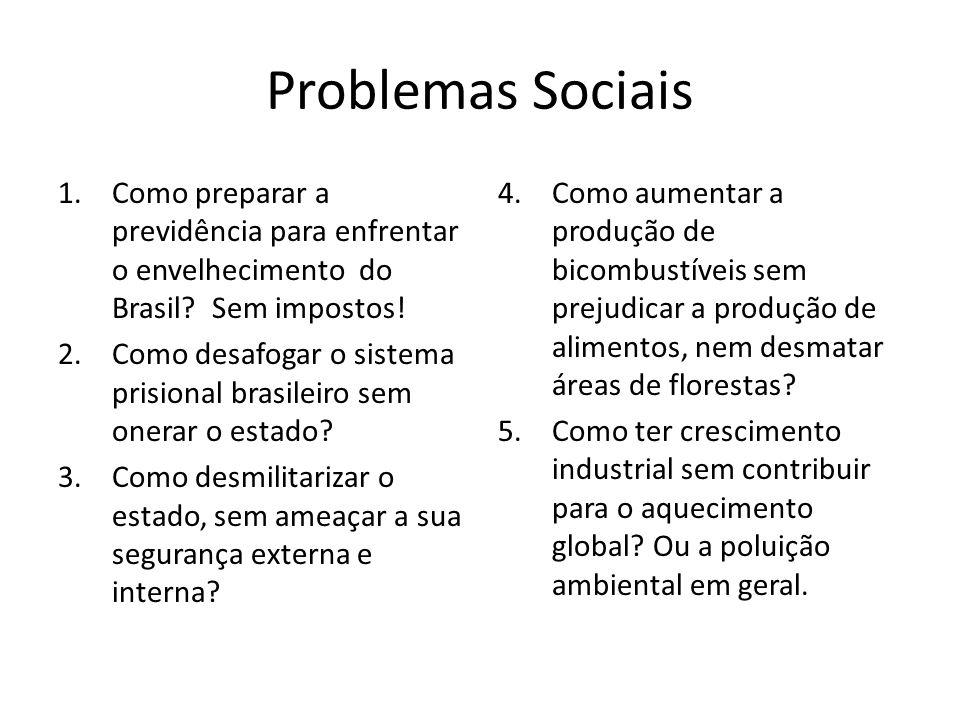 Problemas Sociais Como preparar a previdência para enfrentar o envelhecimento do Brasil Sem impostos!