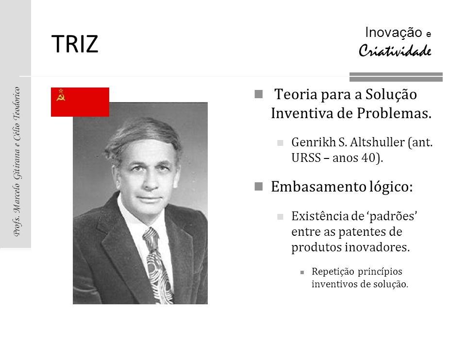 TRIZ Teoria para a Solução Inventiva de Problemas. Embasamento lógico: