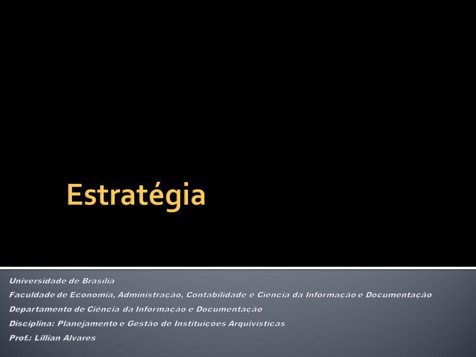 Estratégia Universidade de Brasília