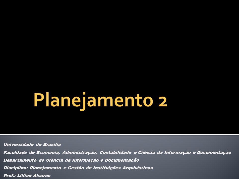 Planejamento 2 Universidade de Brasília
