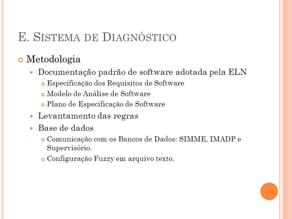 E. Sistema de Diagnóstico