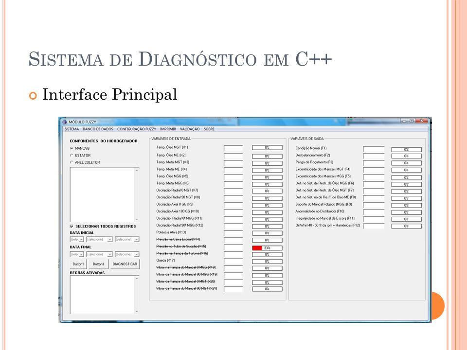 Sistema de Diagnóstico em C++