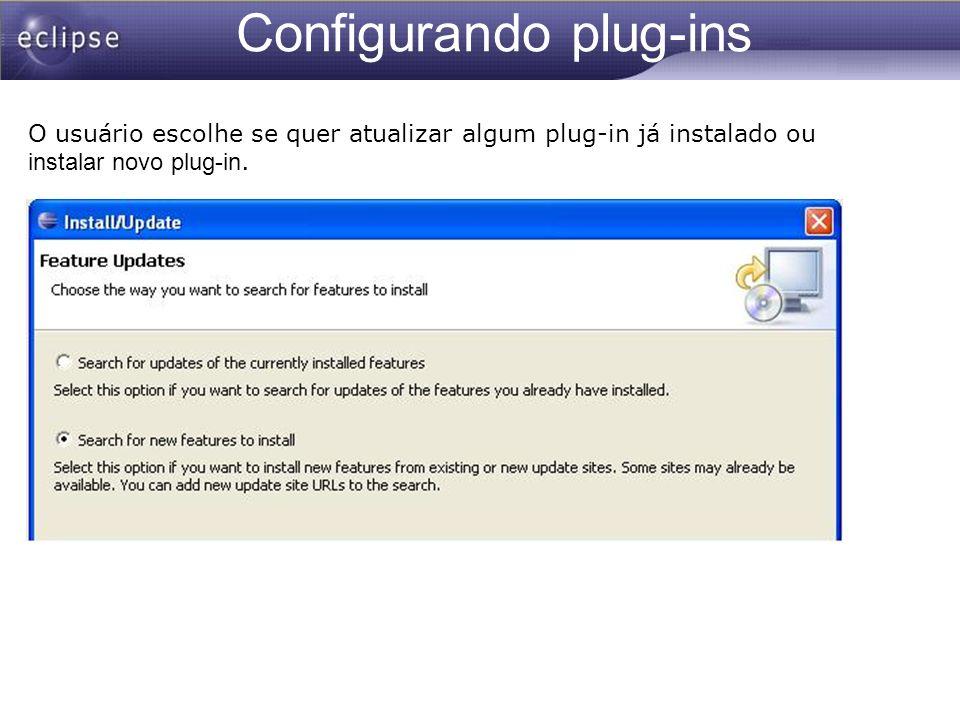 Configurando plug-ins