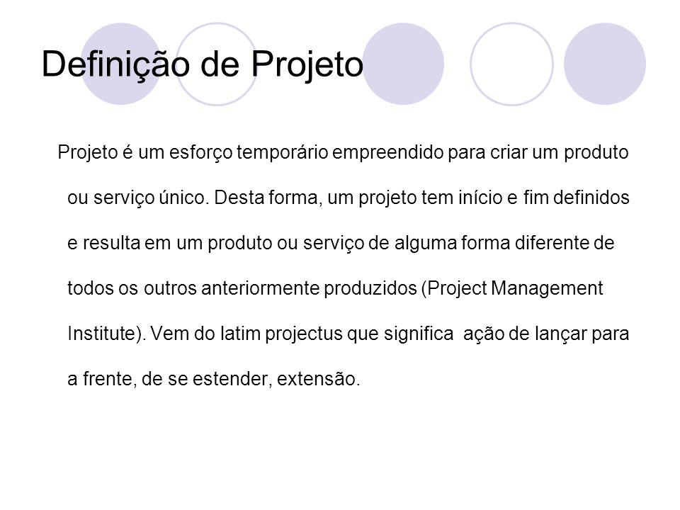 Definição de Projeto