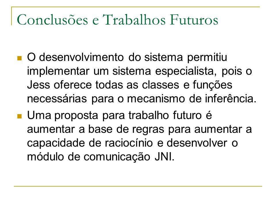 Conclusões e Trabalhos Futuros