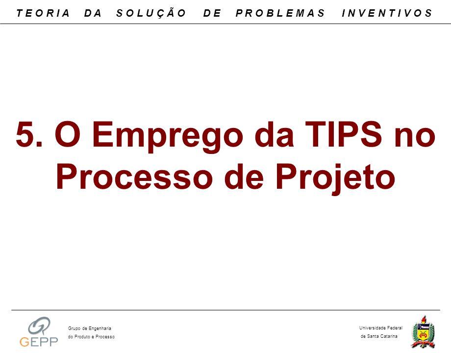 5. O Emprego da TIPS no Processo de Projeto