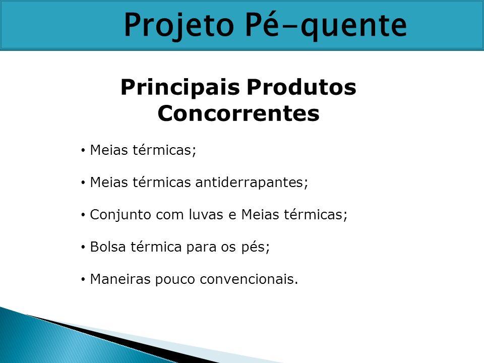 Principais Produtos Concorrentes