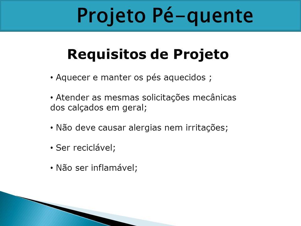 Projeto Pé-quente Requisitos de Projeto