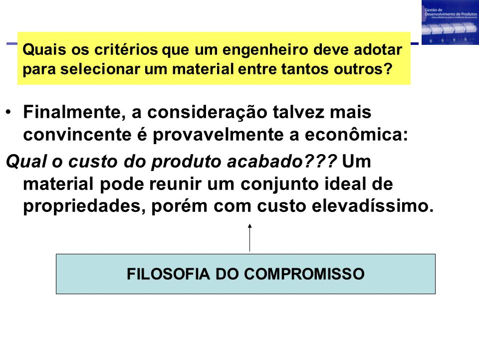 FILOSOFIA DO COMPROMISSO