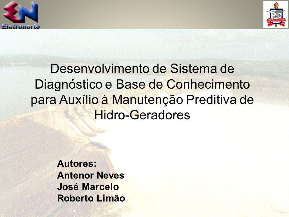 Desenvolvimento de Sistema de Diagnóstico e Base de Conhecimento para Auxílio à Manutenção Preditiva de Hidro-Geradores
