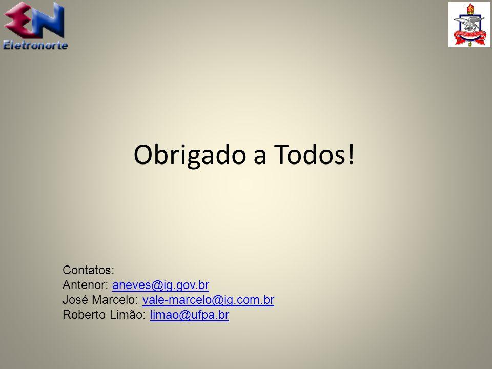 Obrigado a Todos! Contatos: Antenor: aneves@ig.gov.br