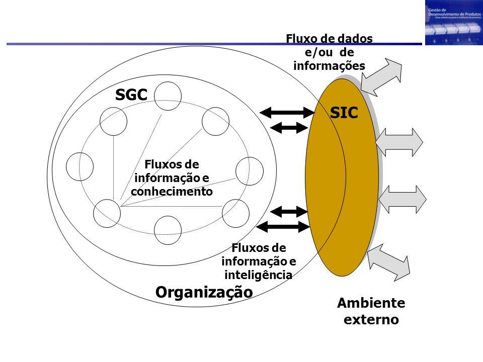 SGC SIC Organização Ambiente externo