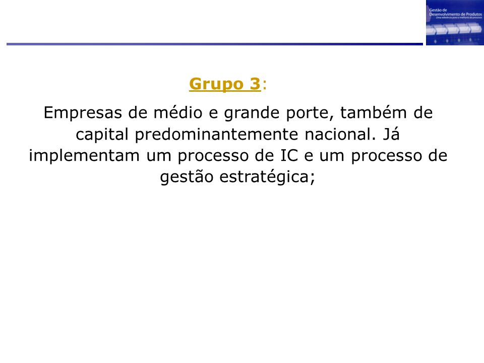 Grupo 3: