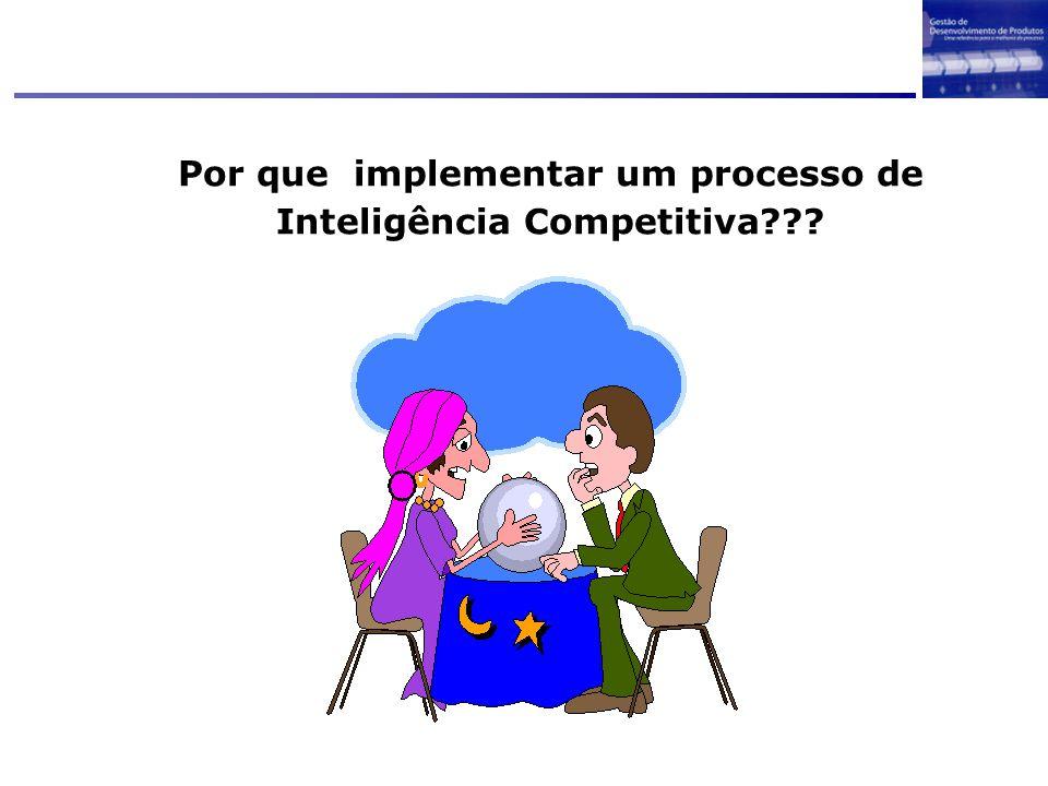 Por que implementar um processo de Inteligência Competitiva