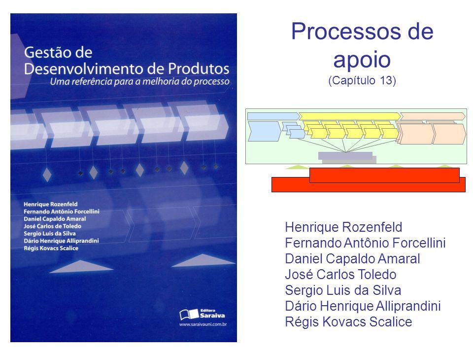 Processos de apoio Henrique Rozenfeld Fernando Antônio Forcellini