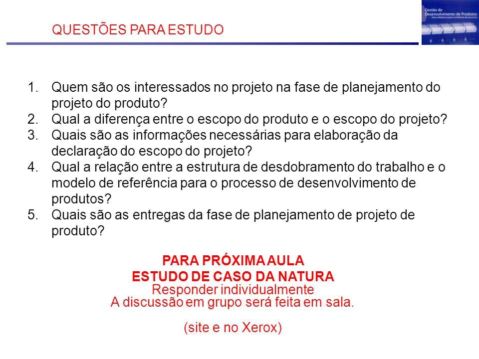 ESTUDO DE CASO DA NATURA
