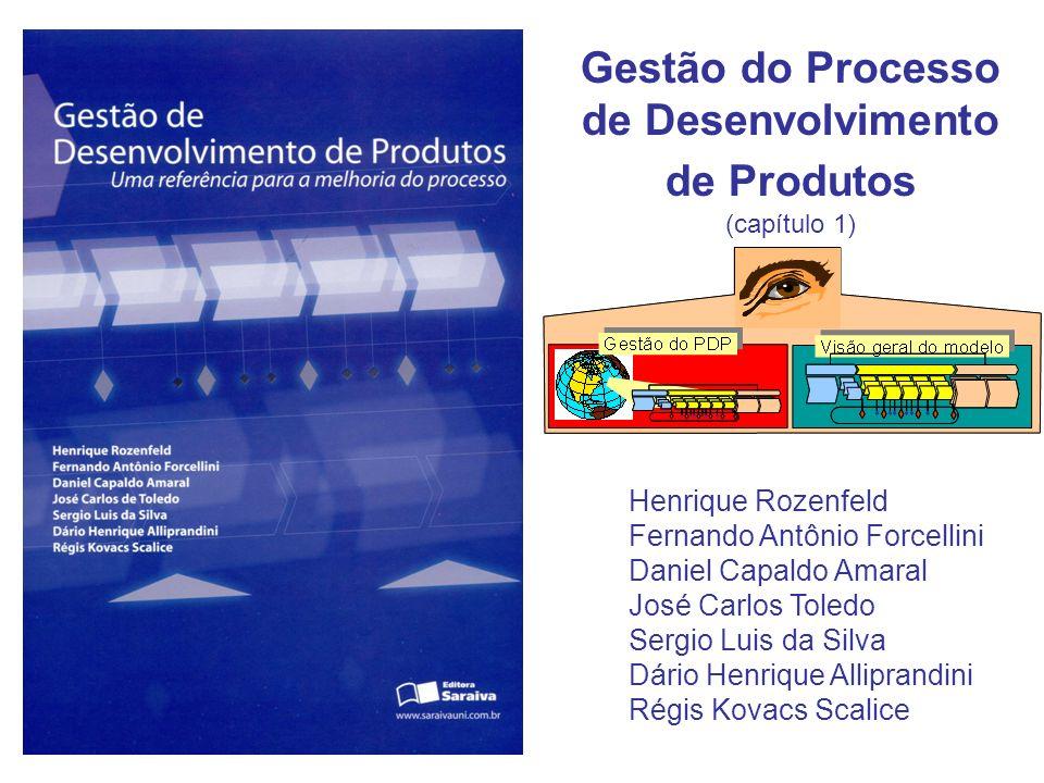 Gestão do Processo de Desenvolvimento de Produtos