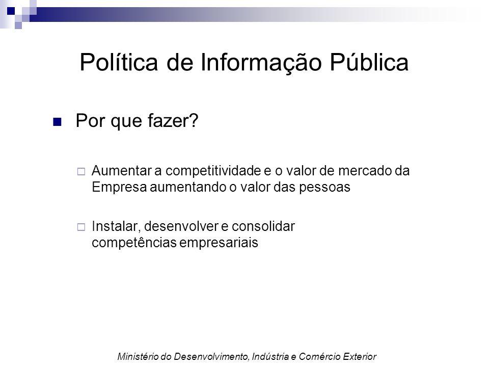 Política de Informação Pública