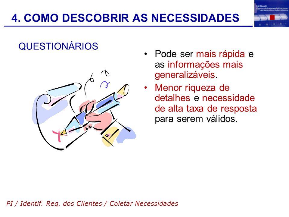 4. COMO DESCOBRIR AS NECESSIDADES