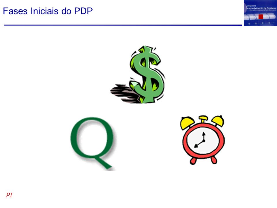 Fases Iniciais do PDP PI