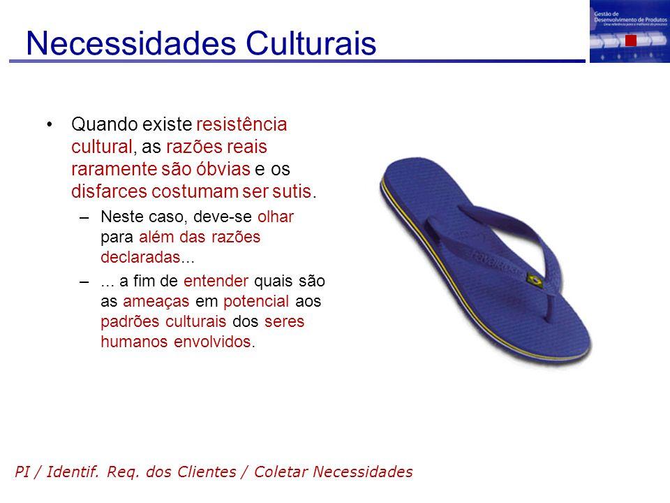 Necessidades Culturais
