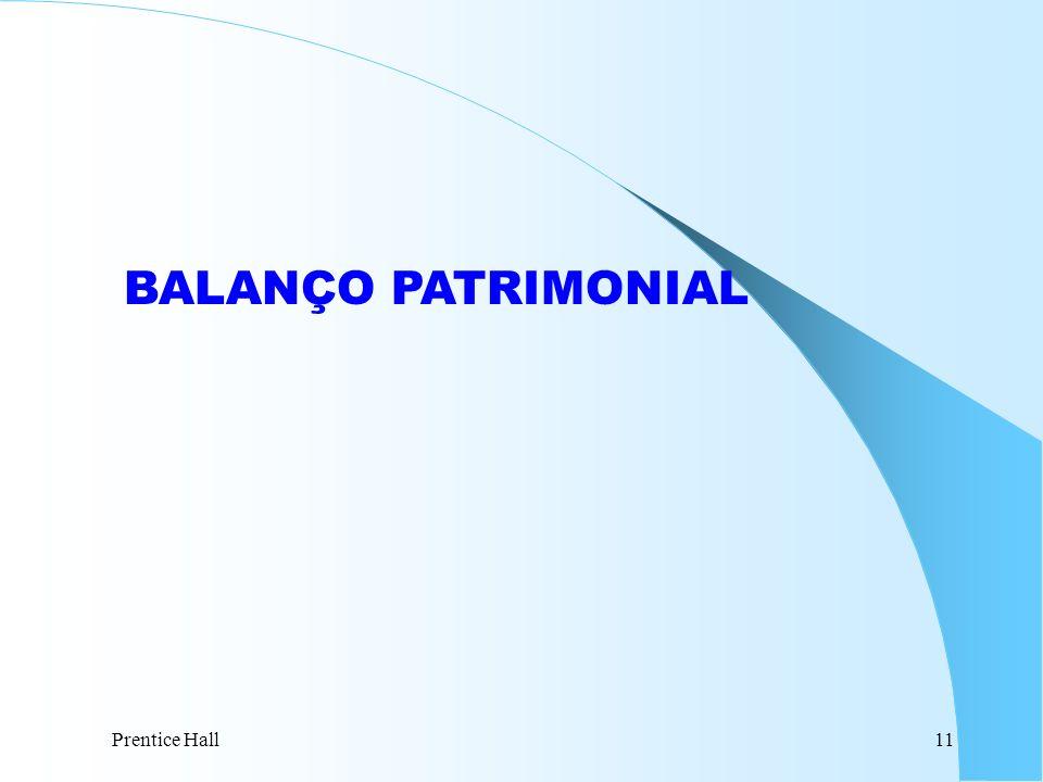 BALANÇO PATRIMONIAL Prentice Hall