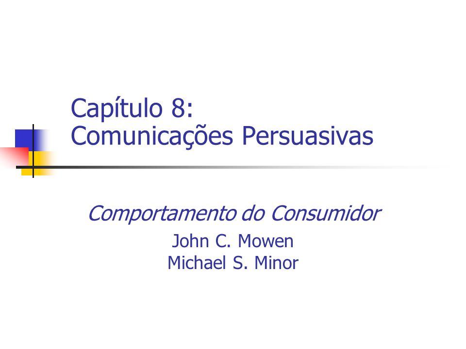 Capítulo 8: Comunicações Persuasivas
