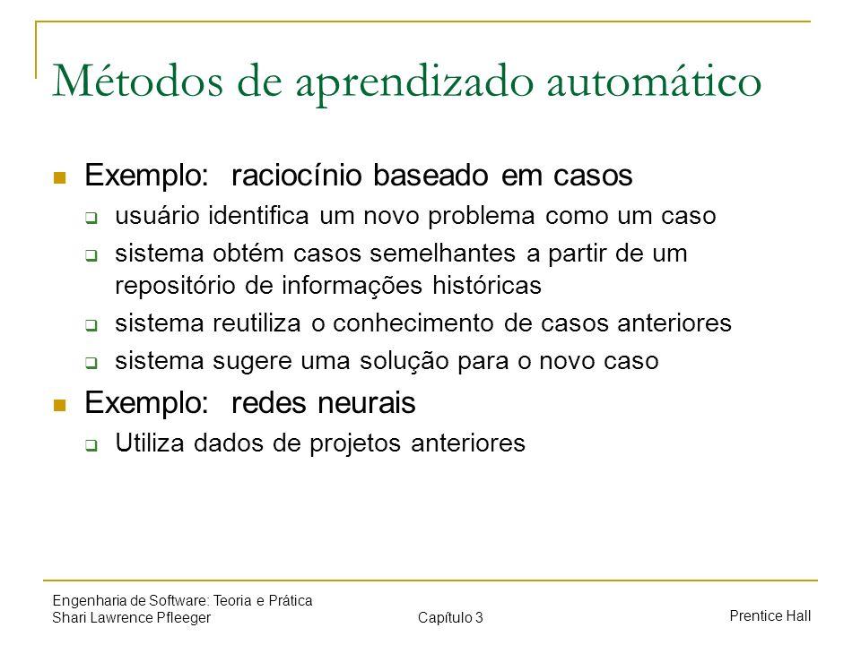Métodos de aprendizado automático