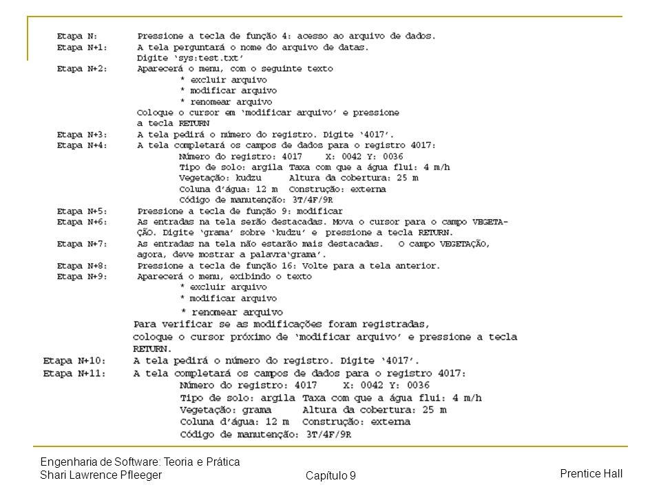 Engenharia de Software: Teoria e Prática