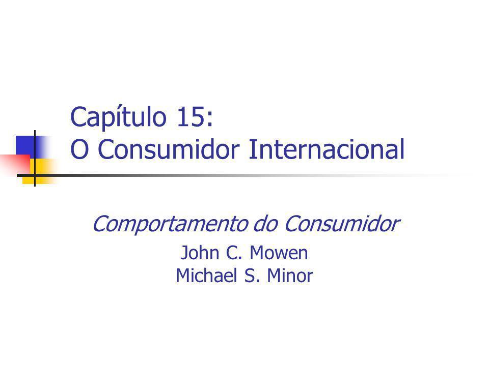Capítulo 15: O Consumidor Internacional