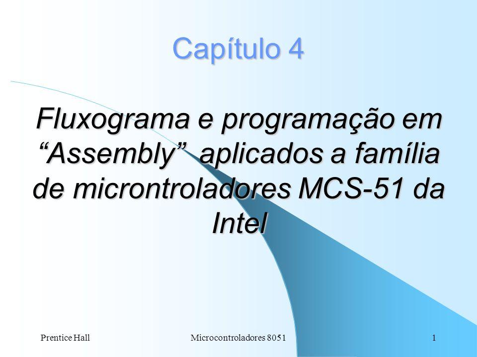 Capítulo 4 Fluxograma e programação em Assembly aplicados a família de microntroladores MCS-51 da Intel
