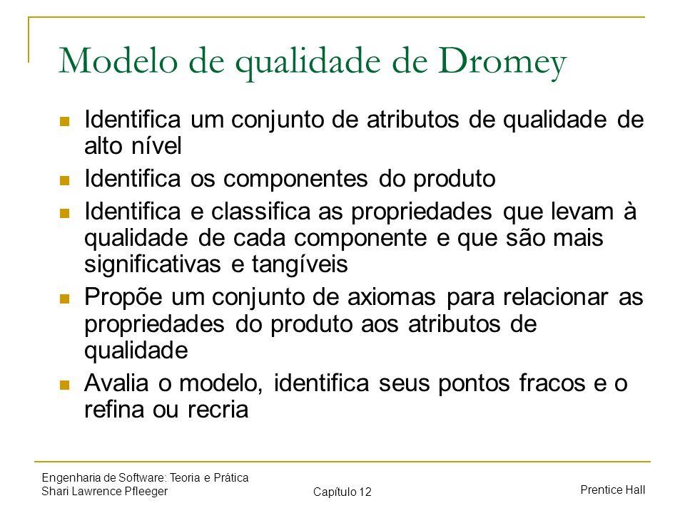 Modelo de qualidade de Dromey