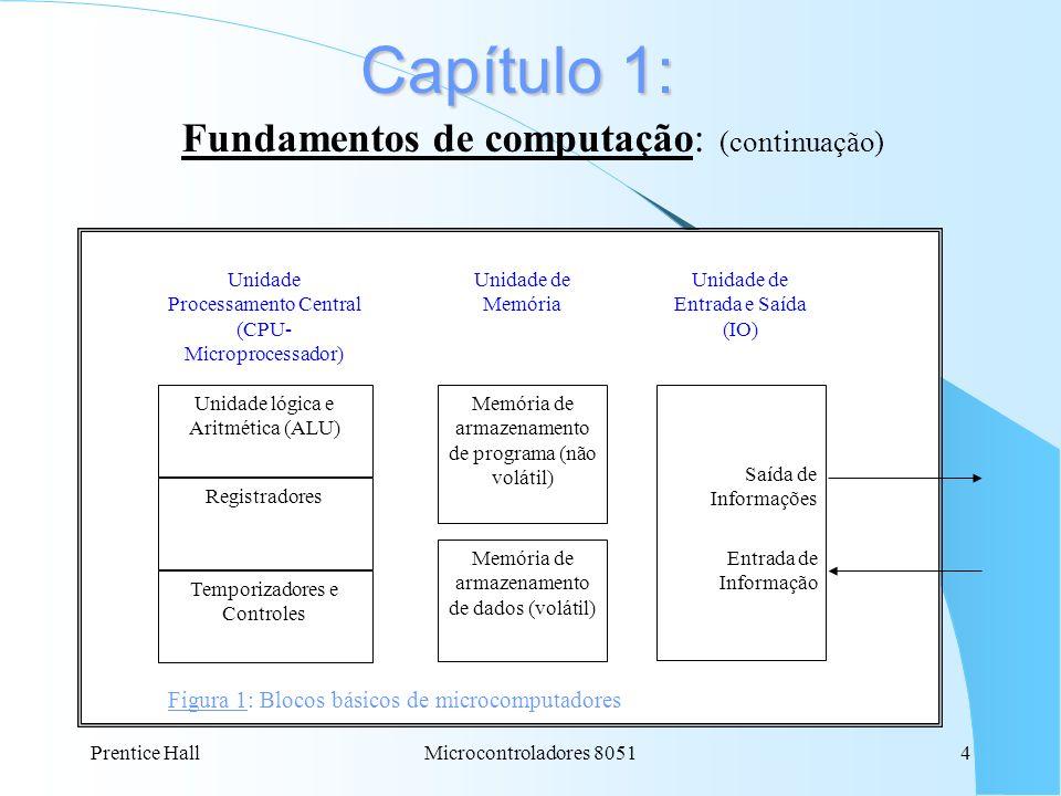 Fundamentos de computação: (continuação)