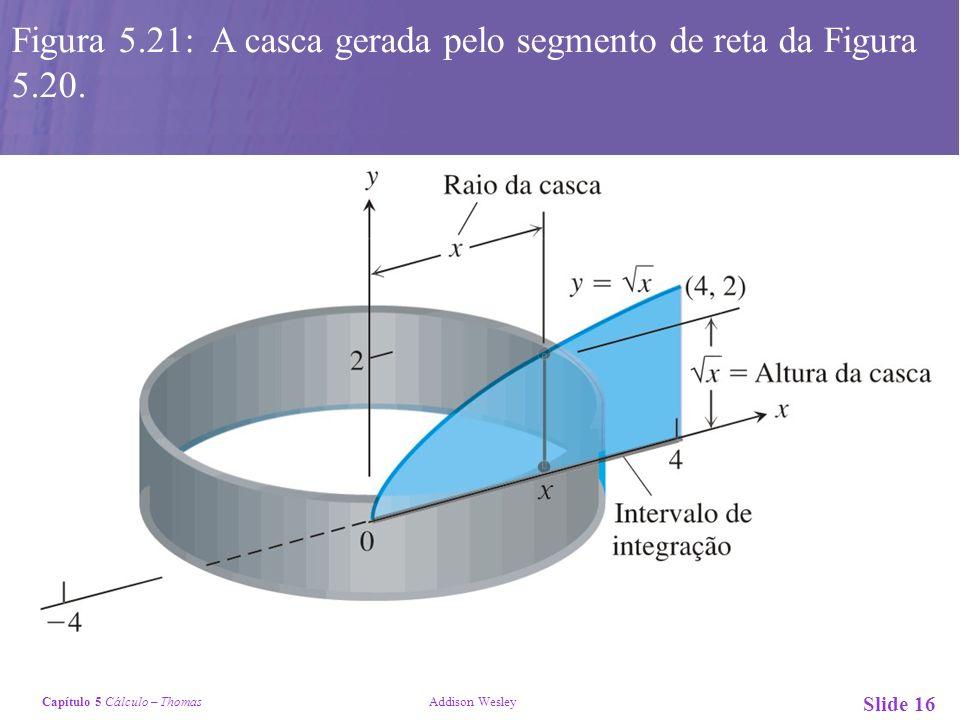Figura 5.21: A casca gerada pelo segmento de reta da Figura 5.20.