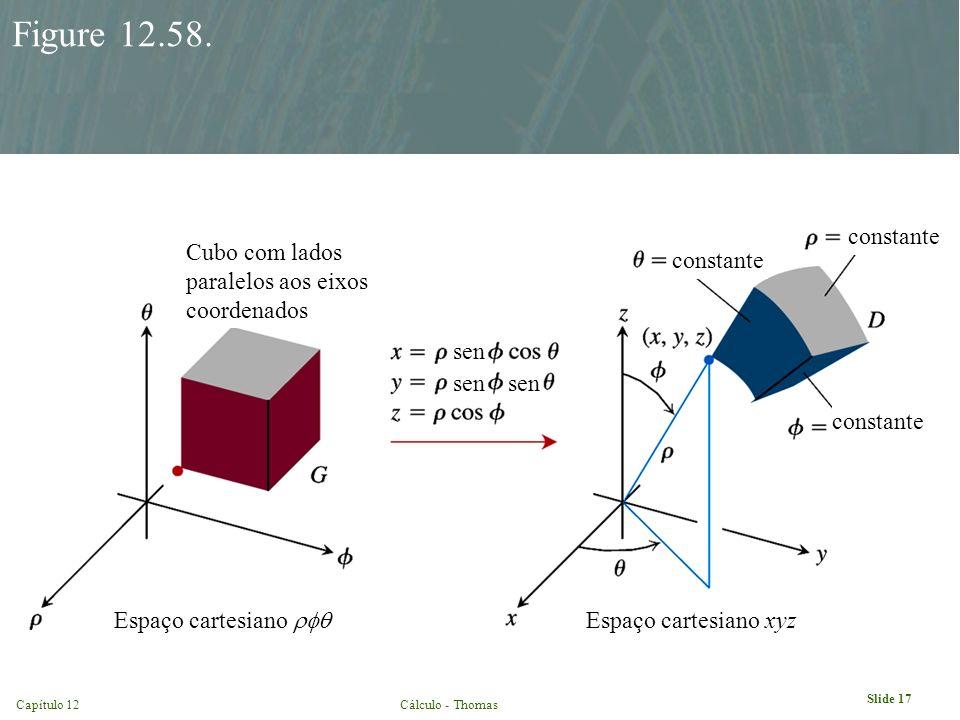 Figure 12.58. constante Cubo com lados paralelos aos eixos coordenados