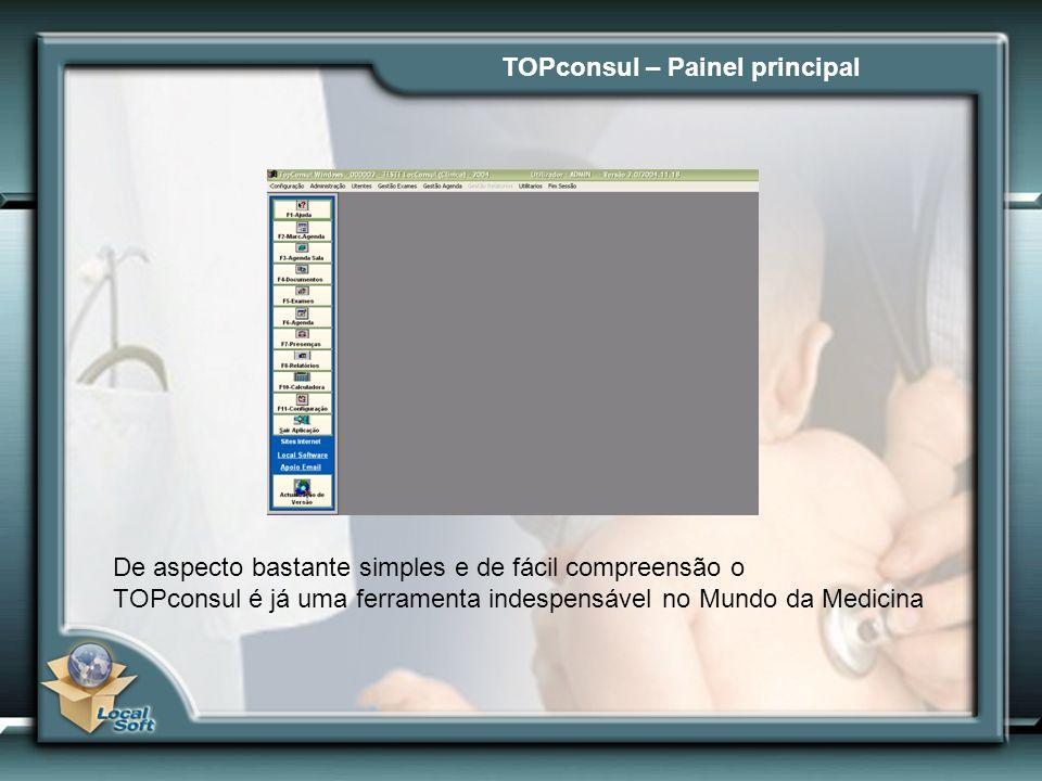 TOPconsul – Painel principal