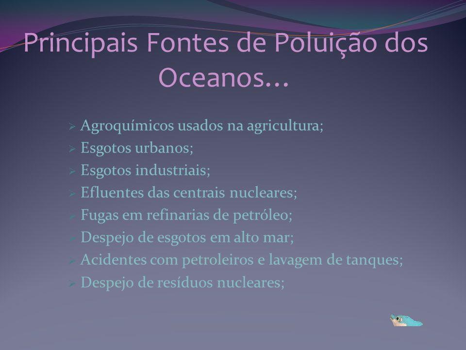 Principais Fontes de Poluição dos Oceanos…