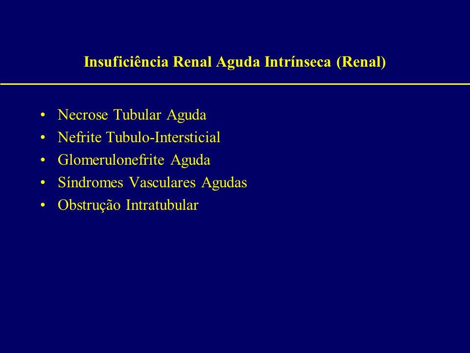 Insuficiência Renal Aguda Intrínseca (Renal)