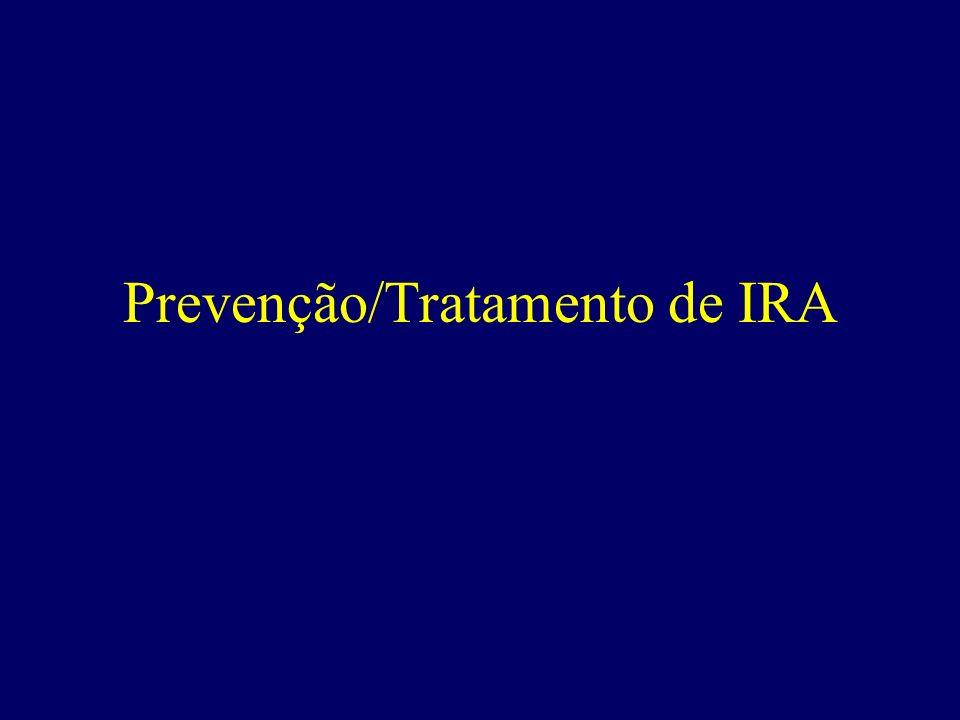 Prevenção/Tratamento de IRA