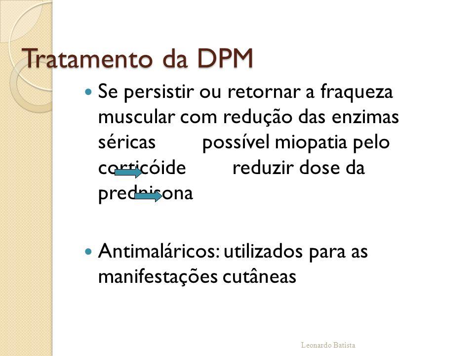 Tratamento da DPM