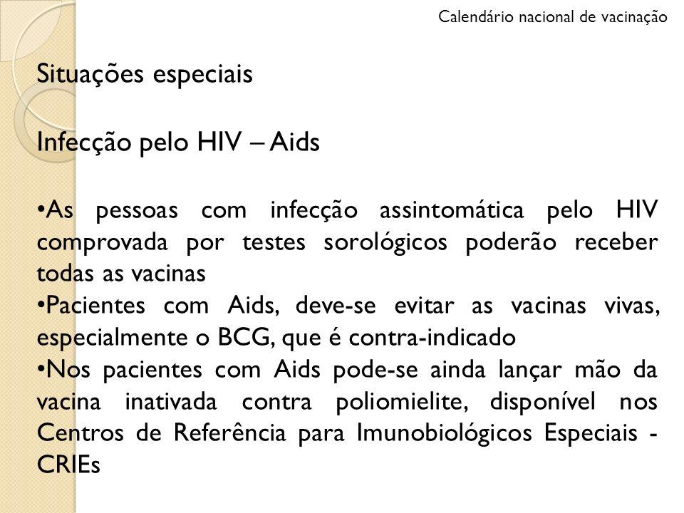 Infecção pelo HIV – Aids