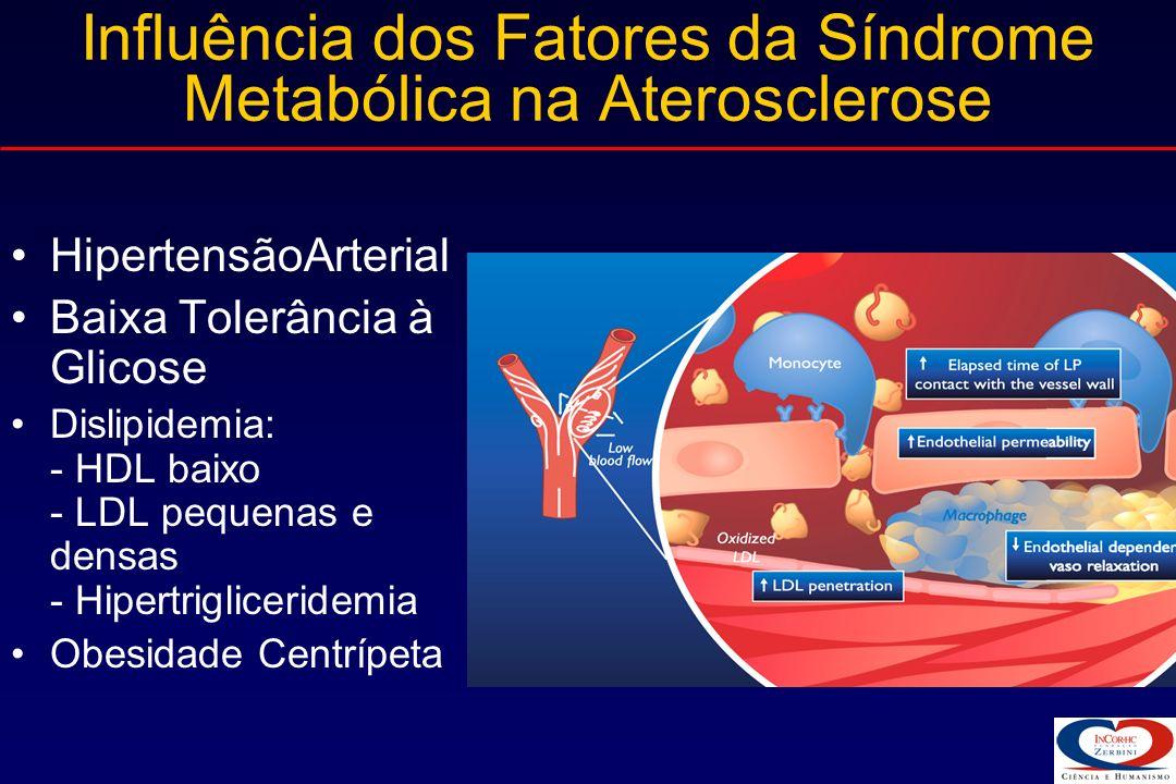 Influência dos Fatores da Síndrome Metabólica na Aterosclerose